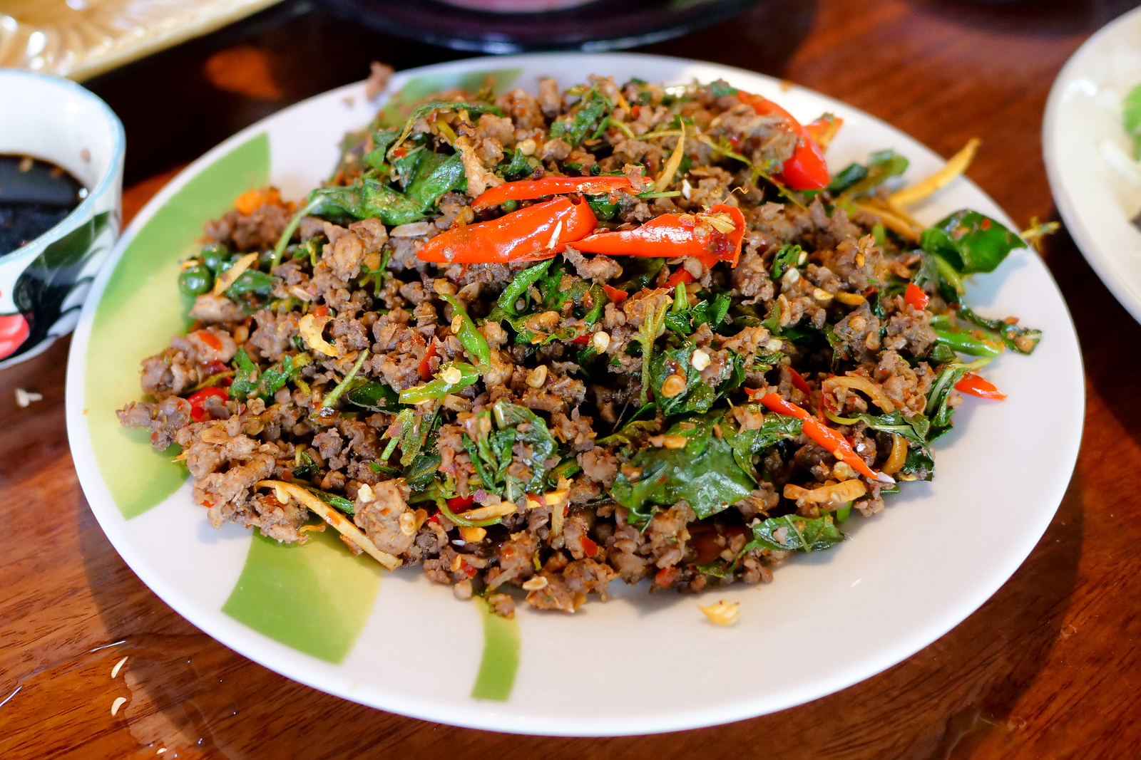 Pad Pet Nok is wonderfully spicy and fragrant