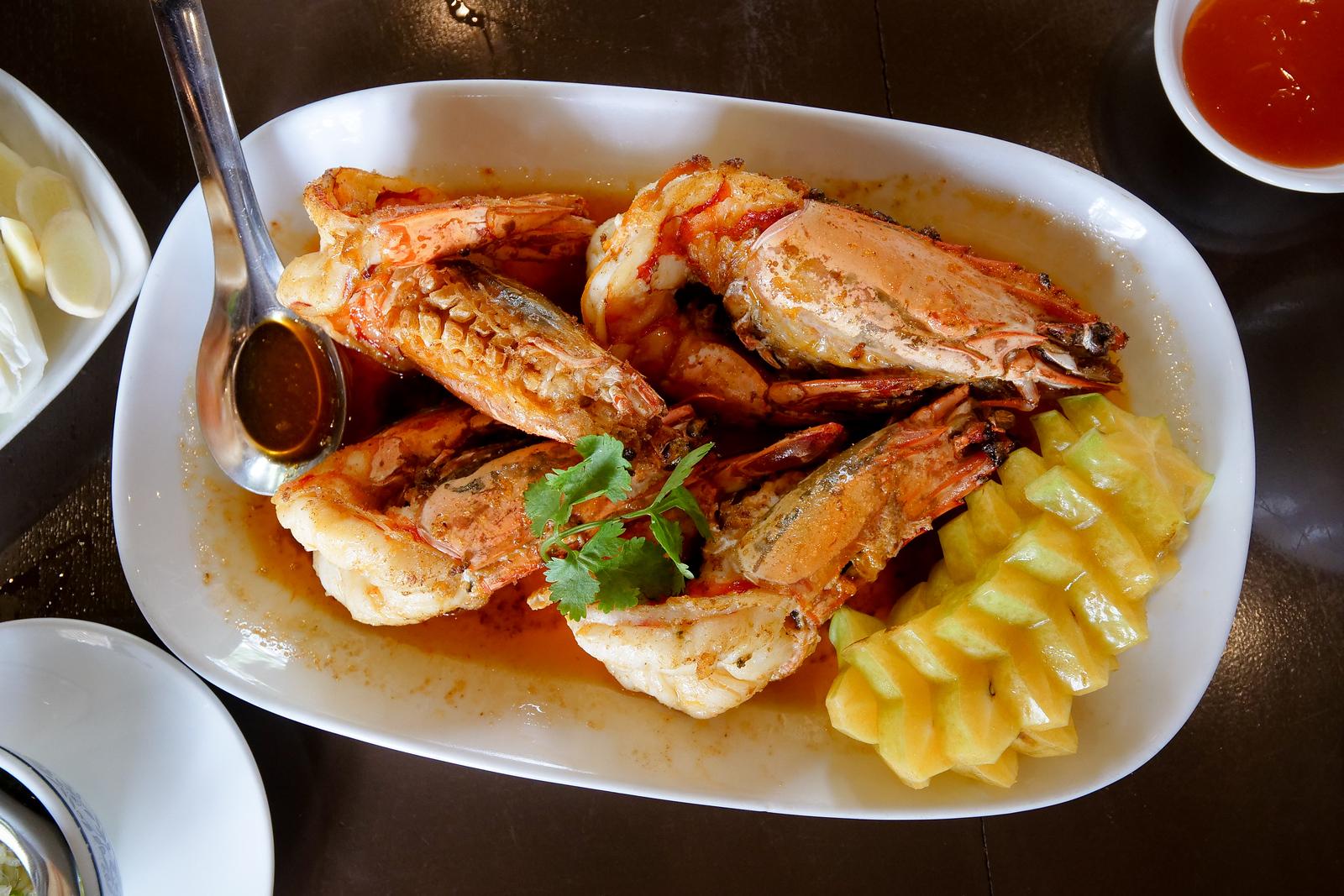 best Thai seafood