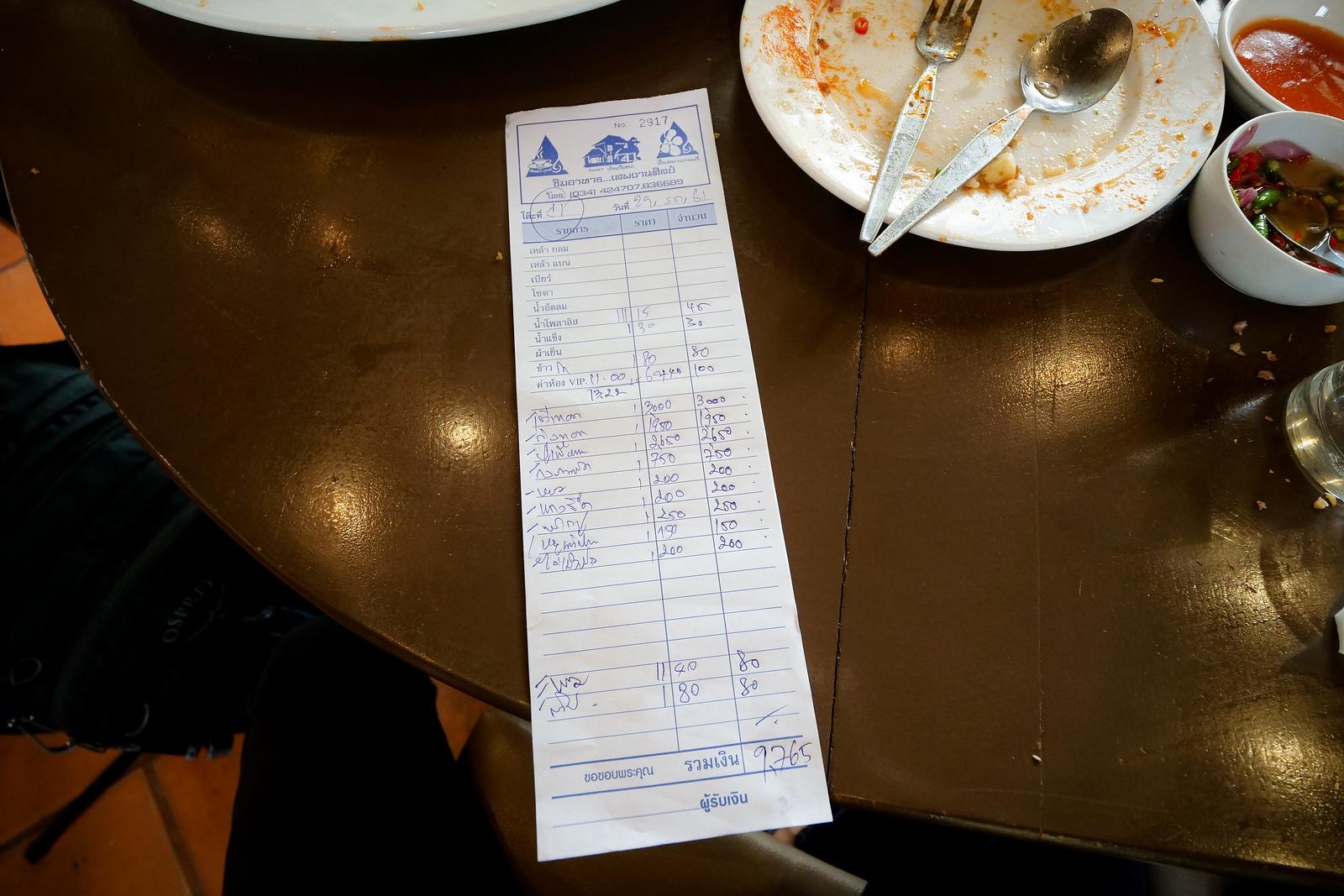 Thai Michelin Star restaurants review
