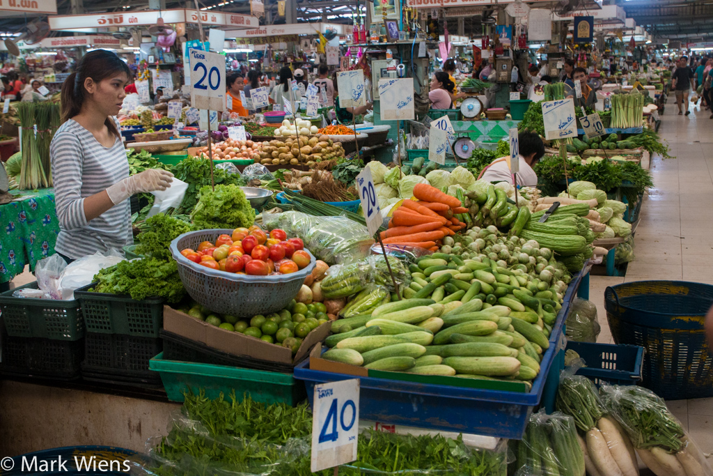 Ying Charoen Market (ยิ่งเจริญ), Bangkok, Thailand