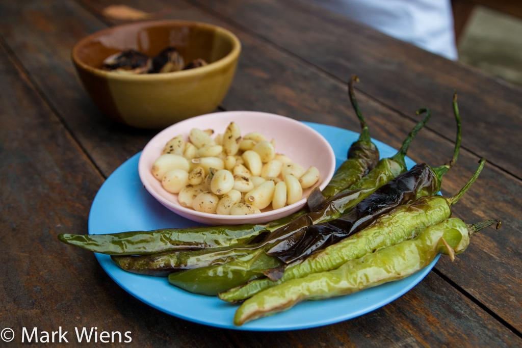Wasp larvae chili dip นำ้พริกตัวต่อ