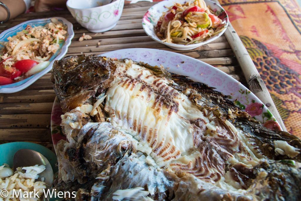Grilled Thai fish