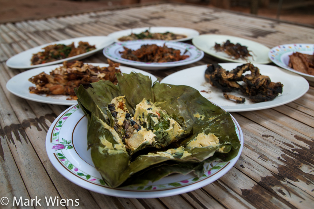 Thai dishes in Isan