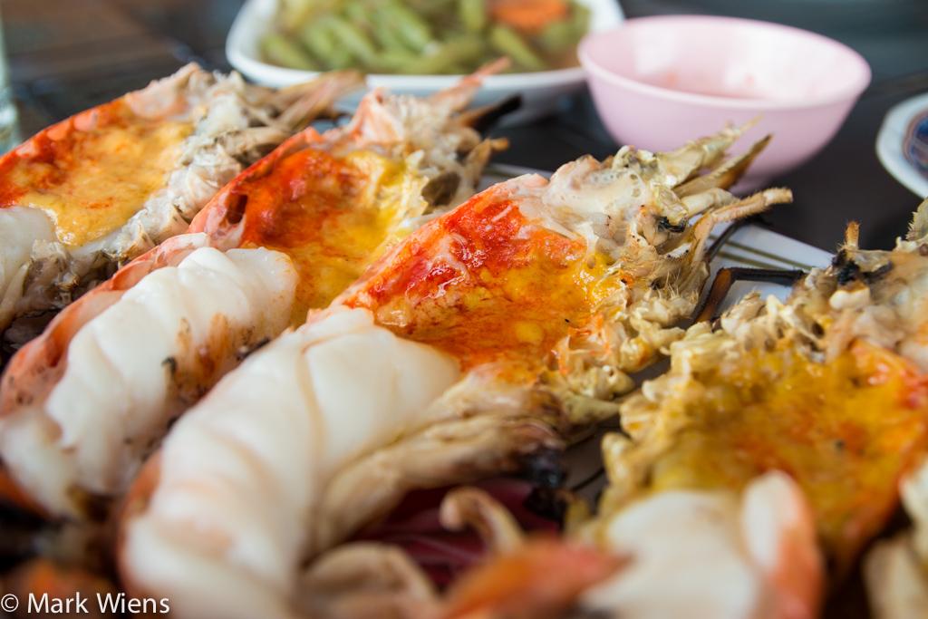 Freshwater prawns in Thailand