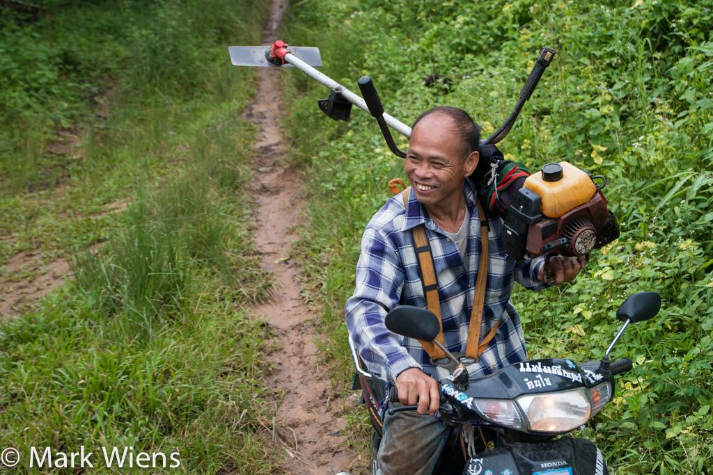 Jungle trekking in Thailand