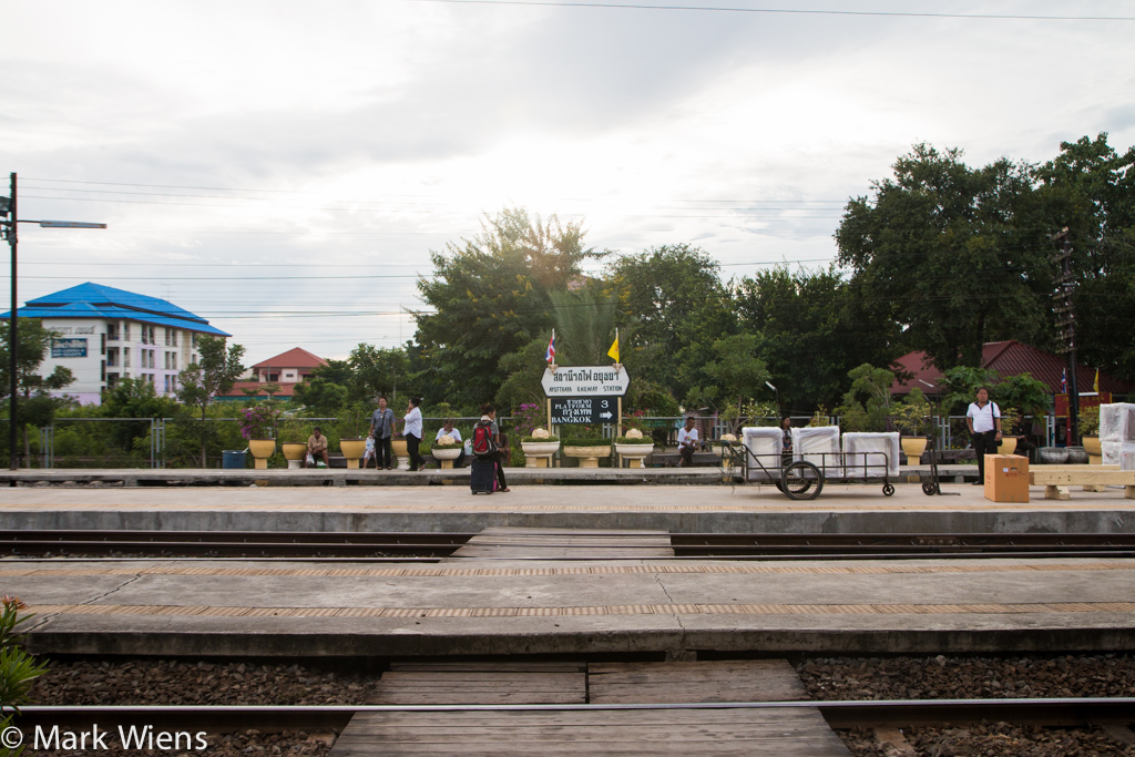 Ayutthaya railroad station