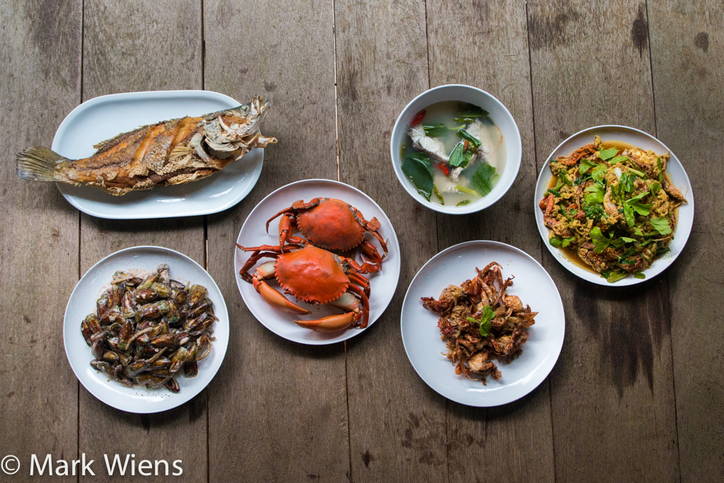 Trat seafood feast