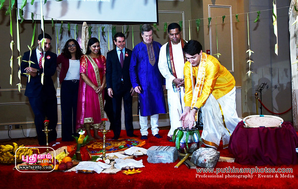 Thai Pongal and Tamil Heritage Month Reception  Jan 20 2018
