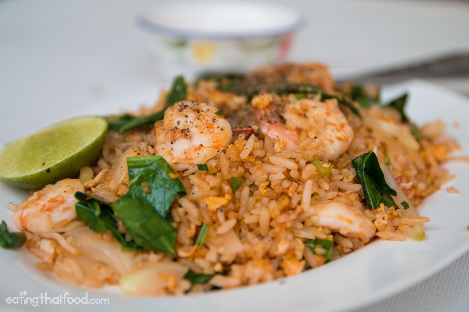 Authentic thai fried rice recipe street food style thai fried rice recipe ccuart Image collections