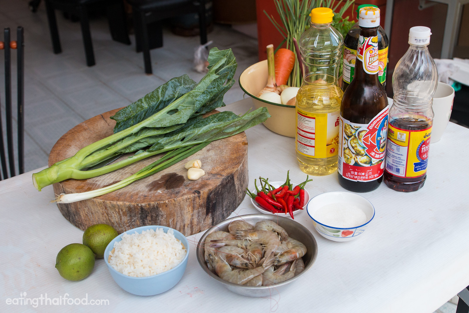 Authentic thai fried rice recipe street food style thai fried rice recipe forumfinder Image collections