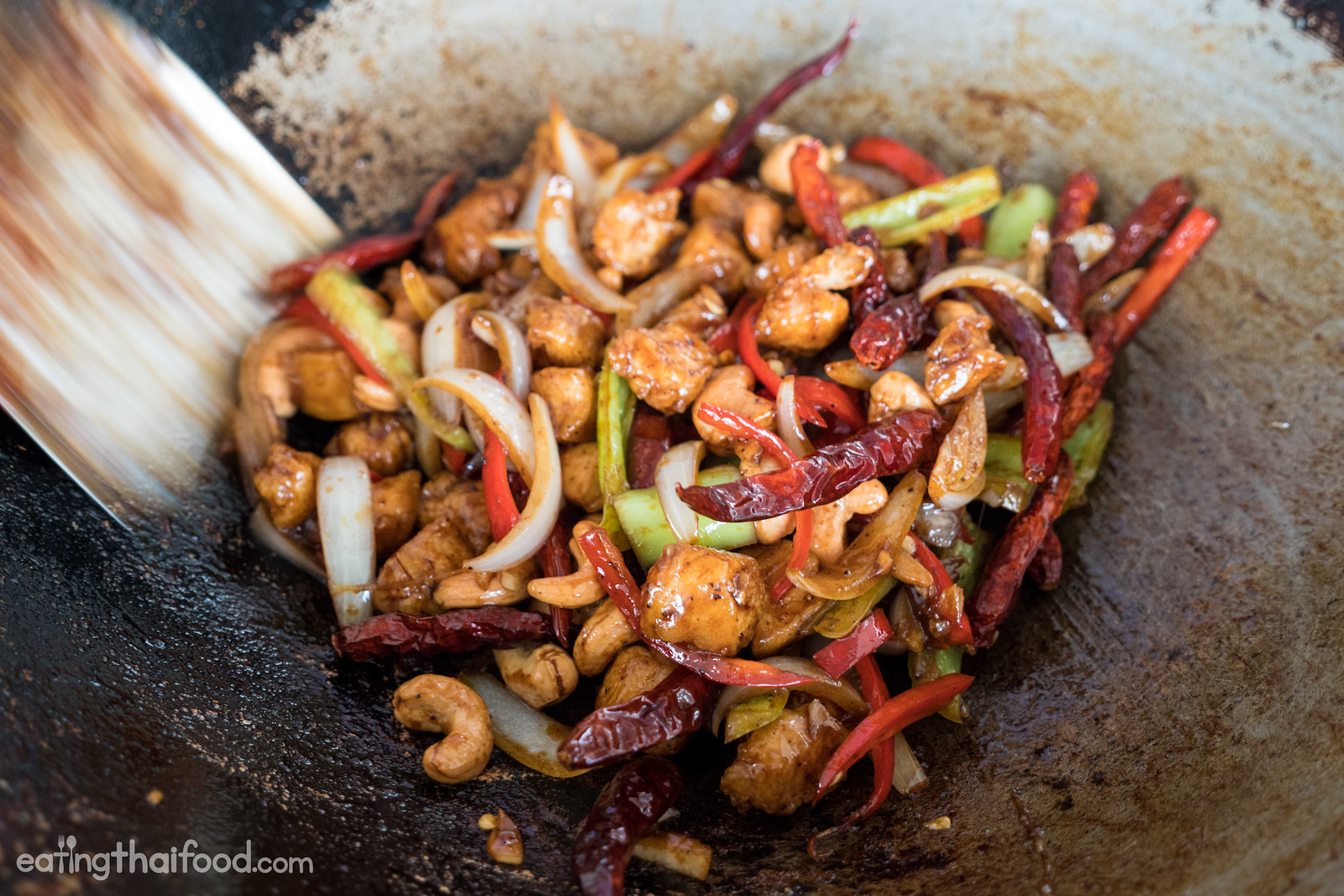 Thai cashew nut chicken recipe