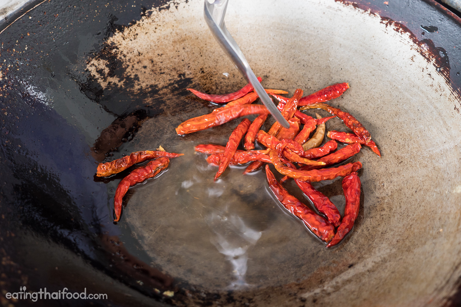 deep fried chilies