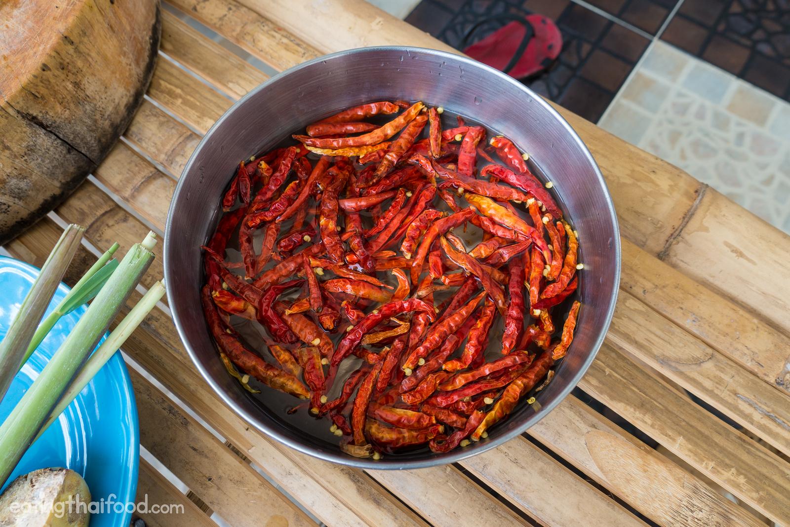 Thai dry chilies
