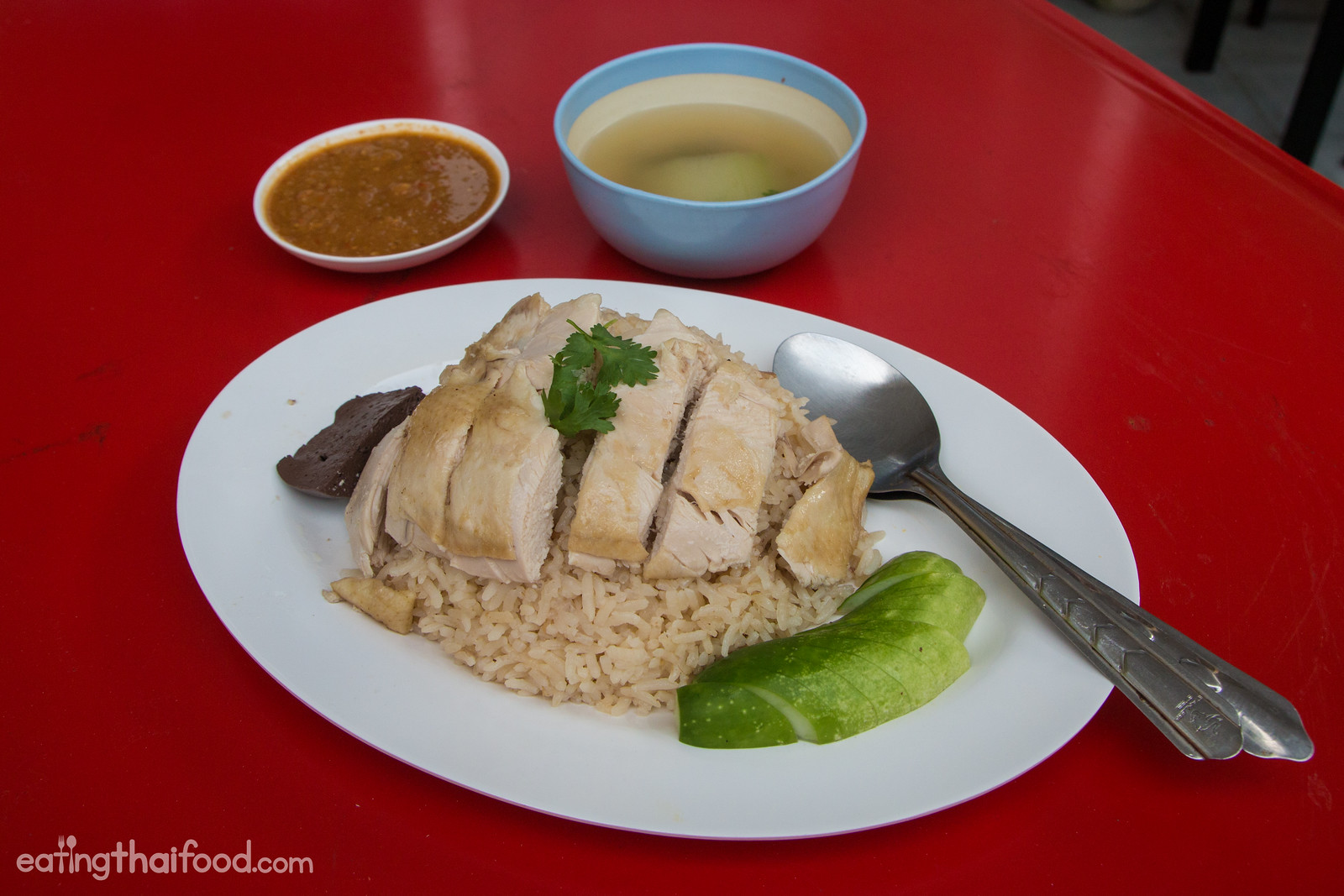 Thai chicken rice recipe