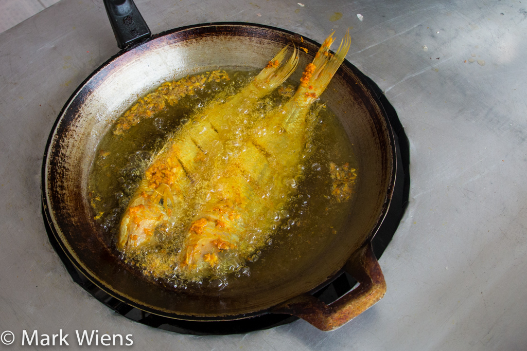Thai fried fish recipe