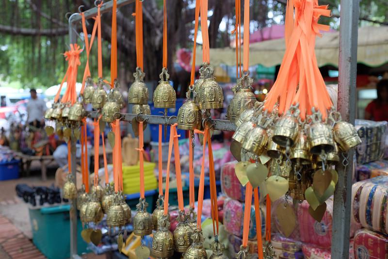 Ayutthaya souvenir bells