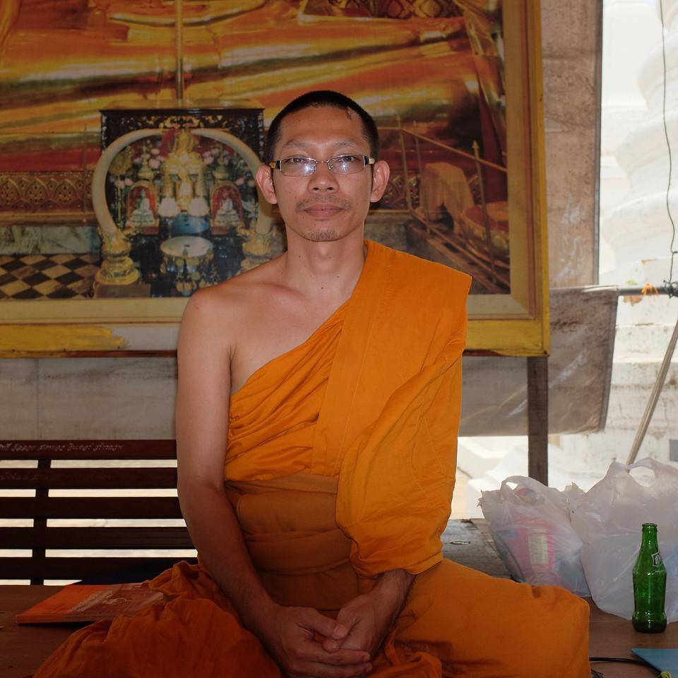 Aspiring monk.