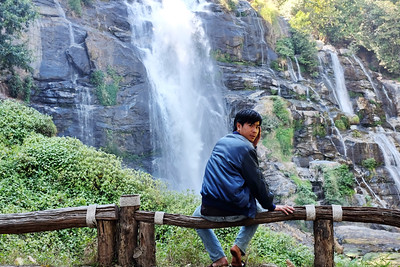 Wachitrathan water fall, Doi Inthanon, Thailand