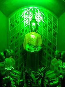 Pai green Buddha