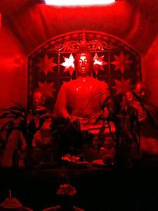 Pai red Buddha