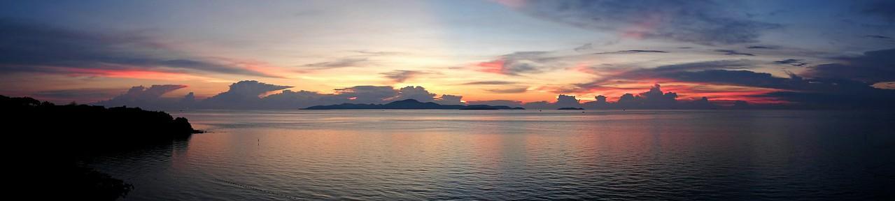 Sunset over Koh Larn