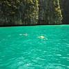 Snorkling at Phi Phi