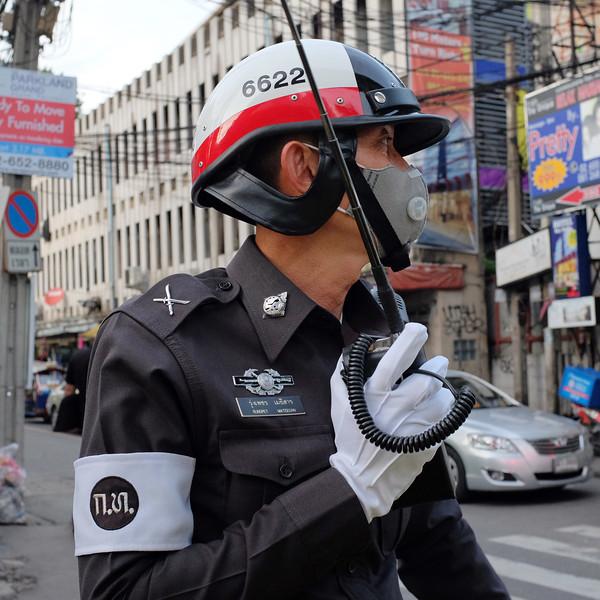 Friendly Bangkok Cop