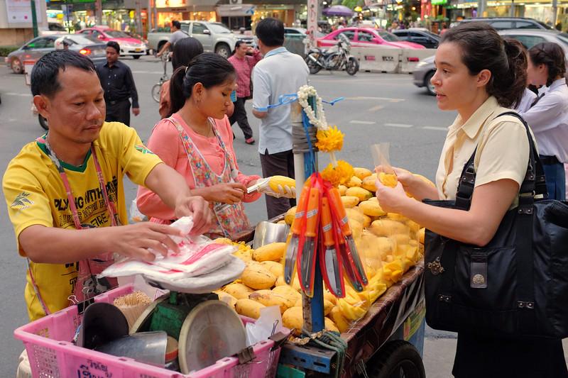 Mango cart, Bangkok