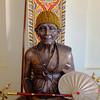 Monk statue 1