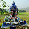 Jao ti, smoke and rice field