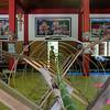 Building bamboo tower Ban Pong