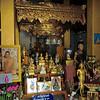 Shrine of Buddha footprint