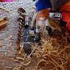 Traditional wood working tools, Bor Sang Umbrella Factory, Bor Sang, Thailand