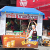Thai tea cart
