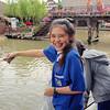at the Ayutthaya floating market, Ayutthaya, Thailand