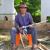 89 year old bamboo cutter
