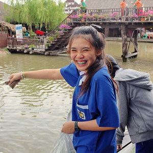 at the Ayutthaya floating market, Ayutthaya, Thailand