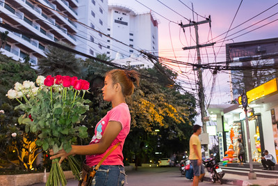 Flower girl, Jomtien