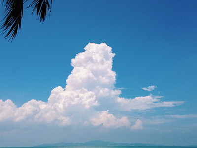 Clouds rising over Koh Larn