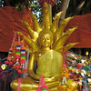 Wishfulfilling Tree seated Buddha