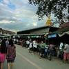 Sky, chedi, market