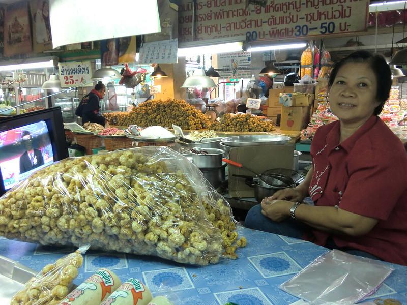 Talad Thanin (market) 12: pork rinds