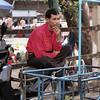 Moto vendor, Friday market