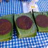Black sticky rice patties
