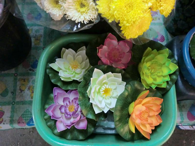 Plastic lotus
