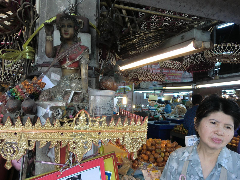 Fruit seller's shrine