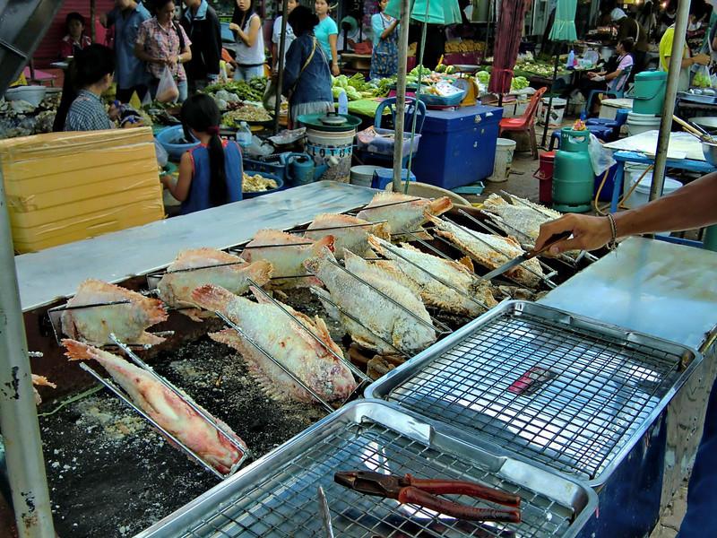Fish rotisserie