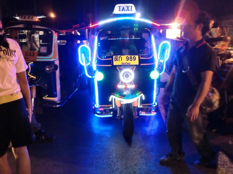 Chiang Mai Electric Tuk Tuk