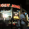 Burger King at Night Bazaar