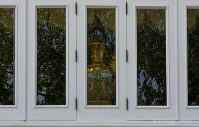 Window reflection at summer palace